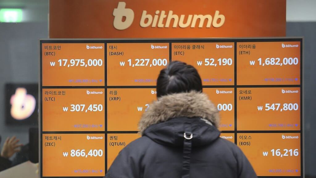 The audit revealed the amounts of cryptocurrency reserves exchange Bithumb