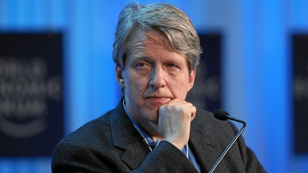 Nobel prize winner Robert Shiller: Bitcoin a bubble that will burst soon