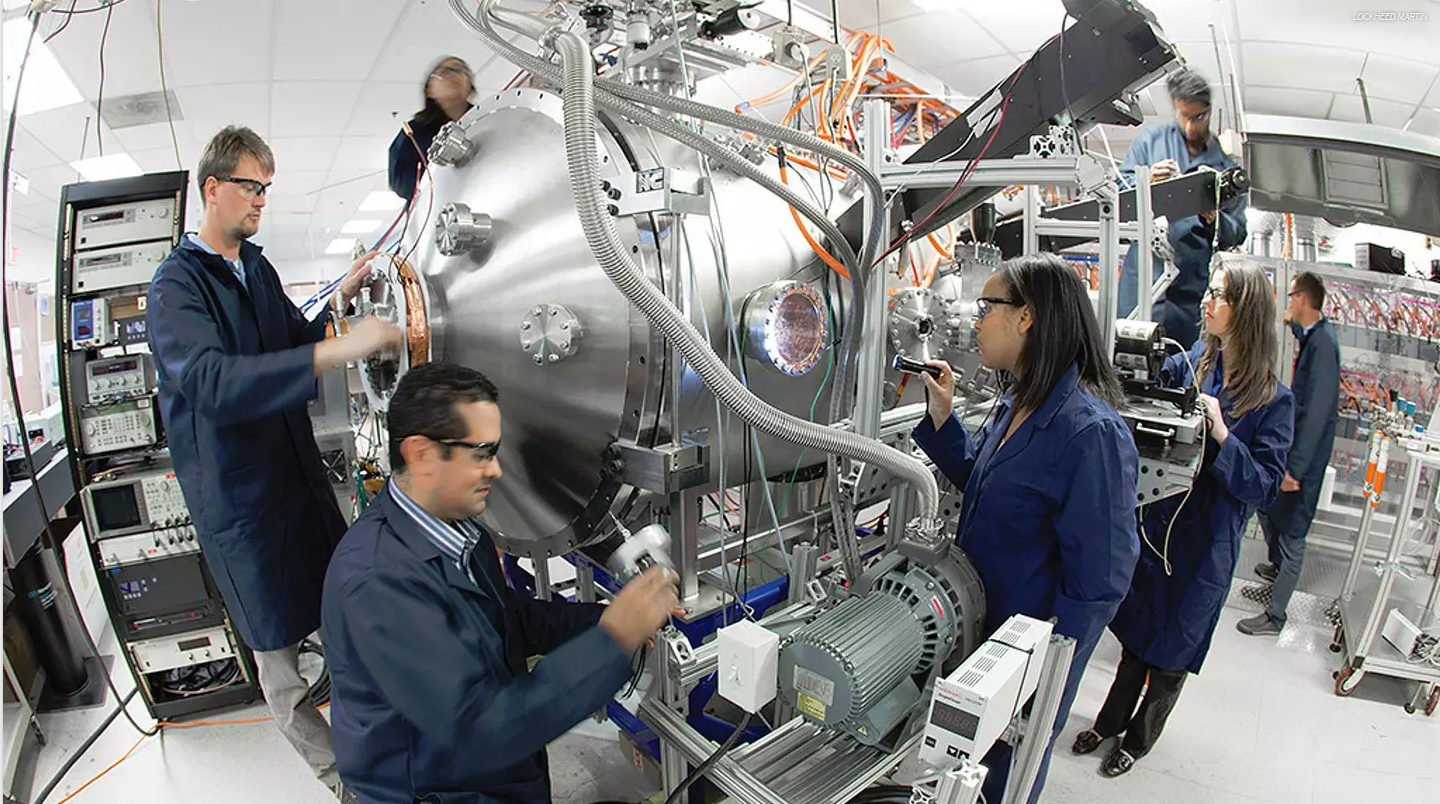 Lockheed Martin has patented a compact fusion reactor