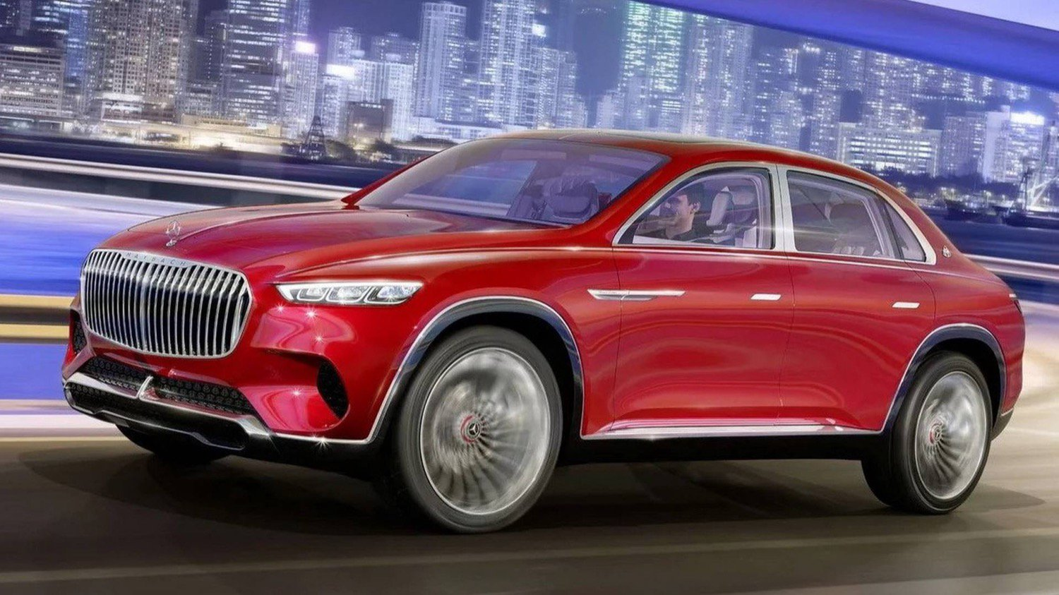 Mercedes introduced concept electric luxury Maybach