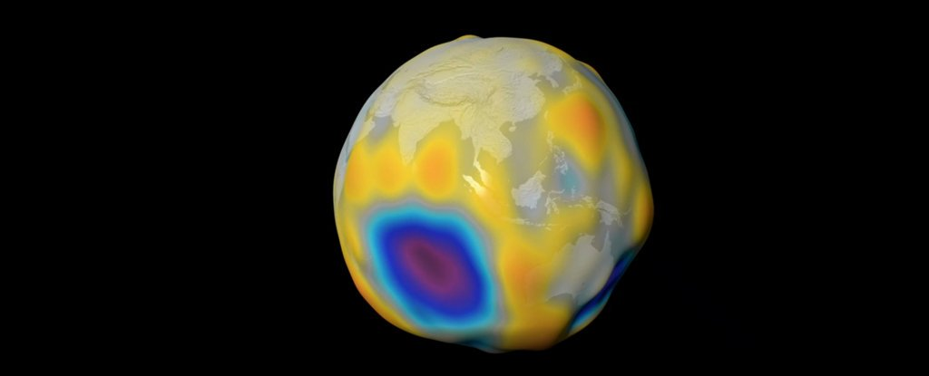 Scientists have created detailed dynamic maps of the magnetic field of the oceans and earth's crust