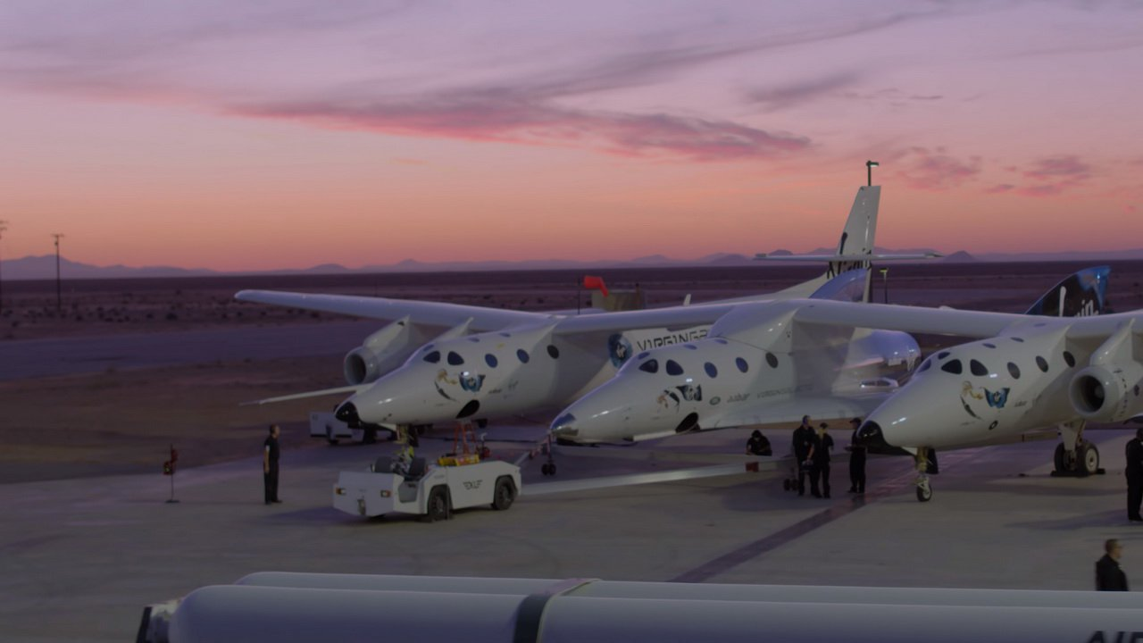 Conducted another successful test spaceplane Virgin Galactic