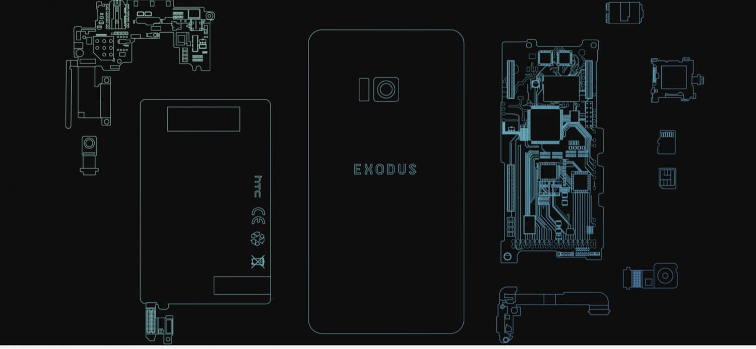 HTC Exodus – the first blockchain-based smartphone for a bright future