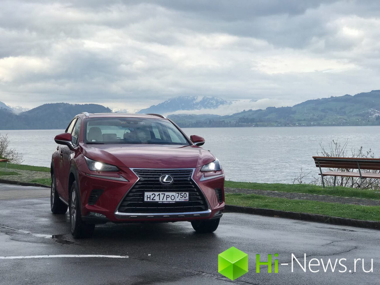 From Zurich to Milan: test drive the updated Lexus NX