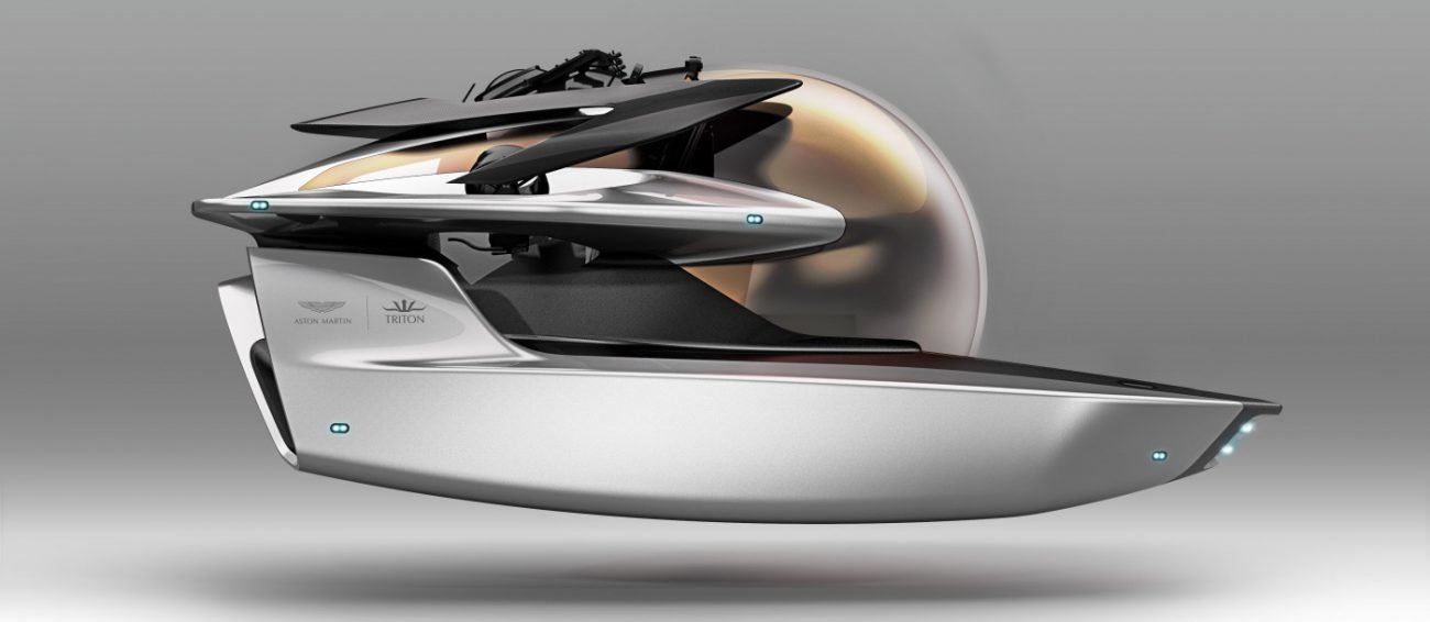 Aston Martin starts creating electric submarine