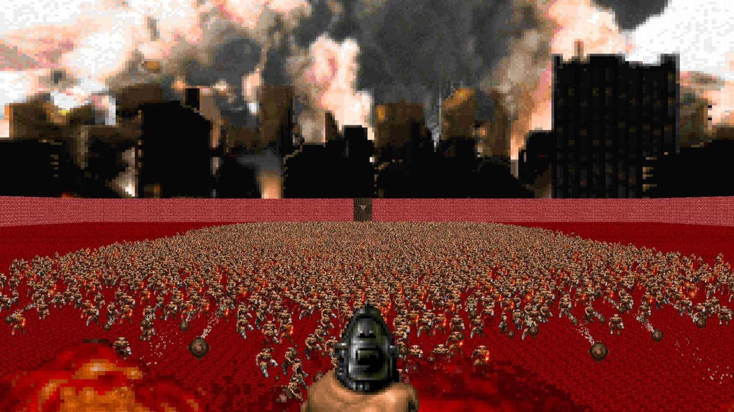 Artificial intelligence has created levels for Doom not worse people