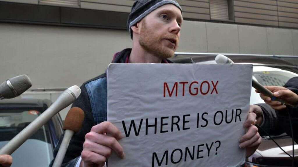 Why falling Bitcoin? Purse Mt.Gox is gone, the next batch of coins