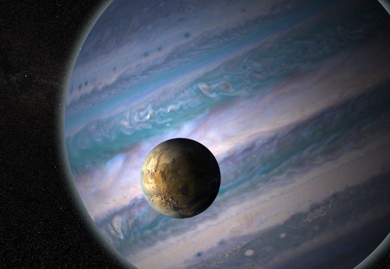 121 discovered a planet with possible habitable satellites