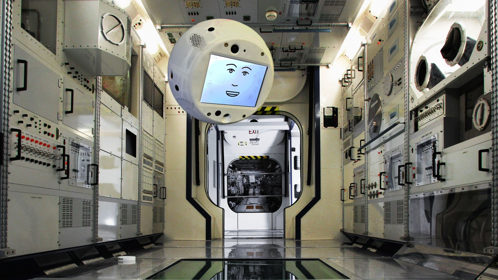 A new member of the crew of the ISS will be flying robot with artificial intelligence