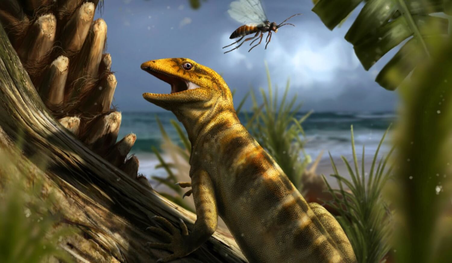 Found the first ancestor of snakes and lizards that lived 240 million years ago