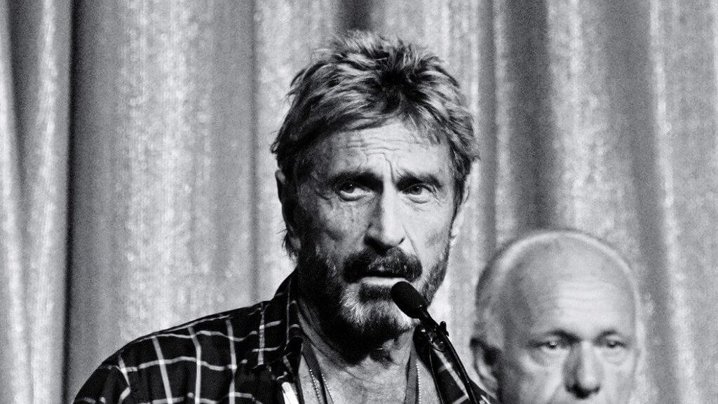 John McAfee: do not panic in a bear market