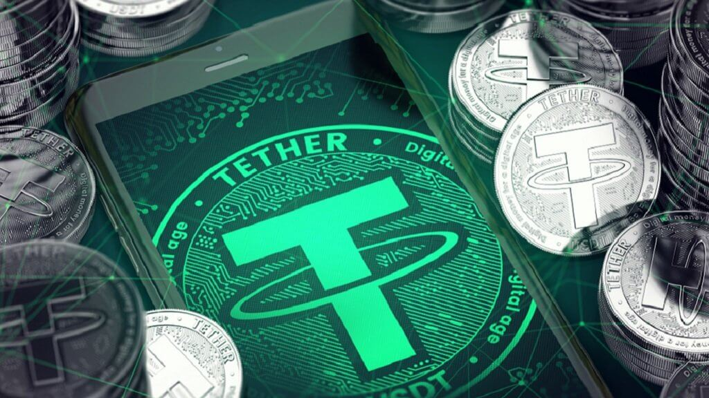 Tether proved the security token USDT dollars. But for one day only
