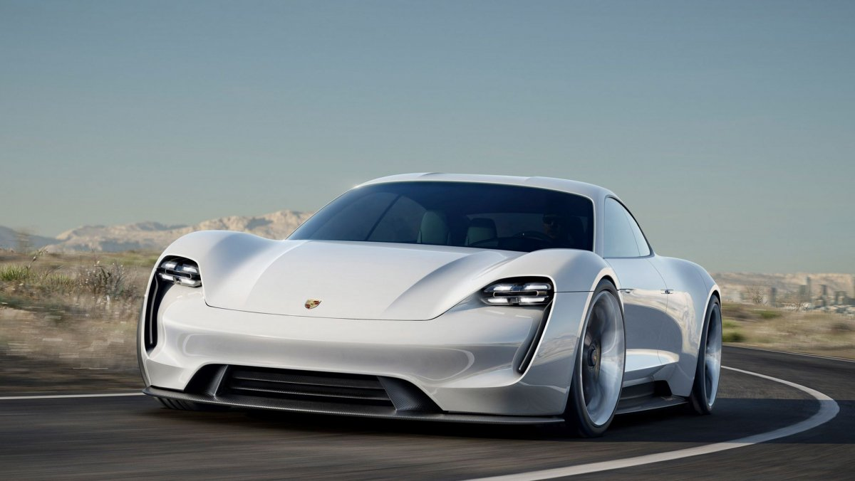 The first production electric car Porsche more intriguing