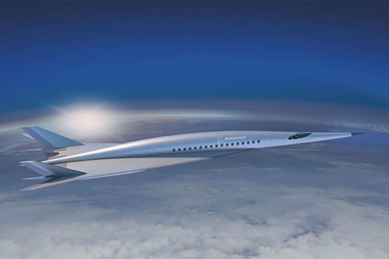 The Boeing company introduced the concept of a hypersonic passenger aircraft