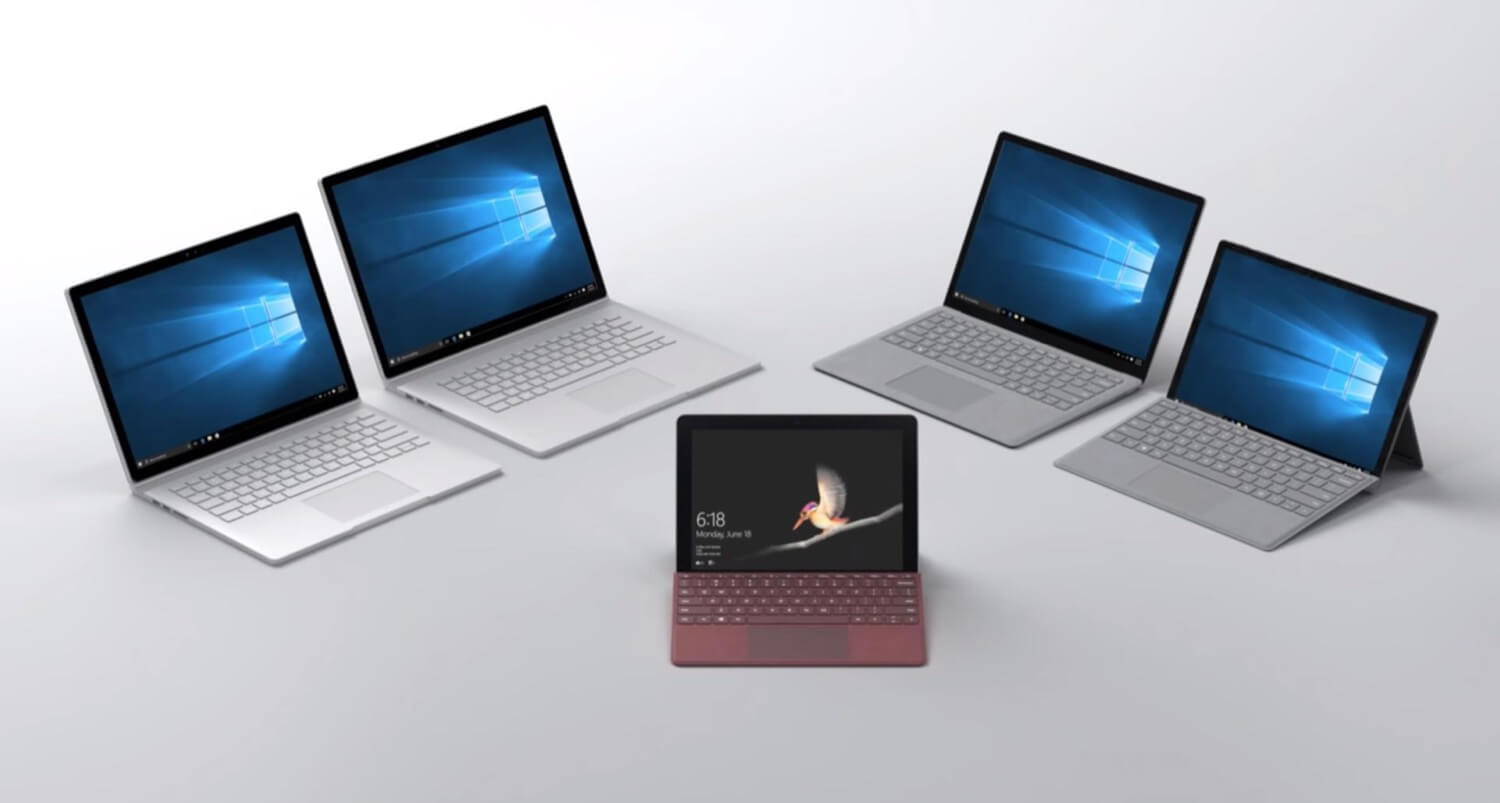 Microsoft has unveiled Surface Go – affordable mix of tablet laptop