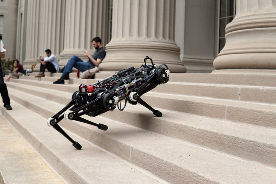Updated robot Cheetah doesn't need sight in order to catch up