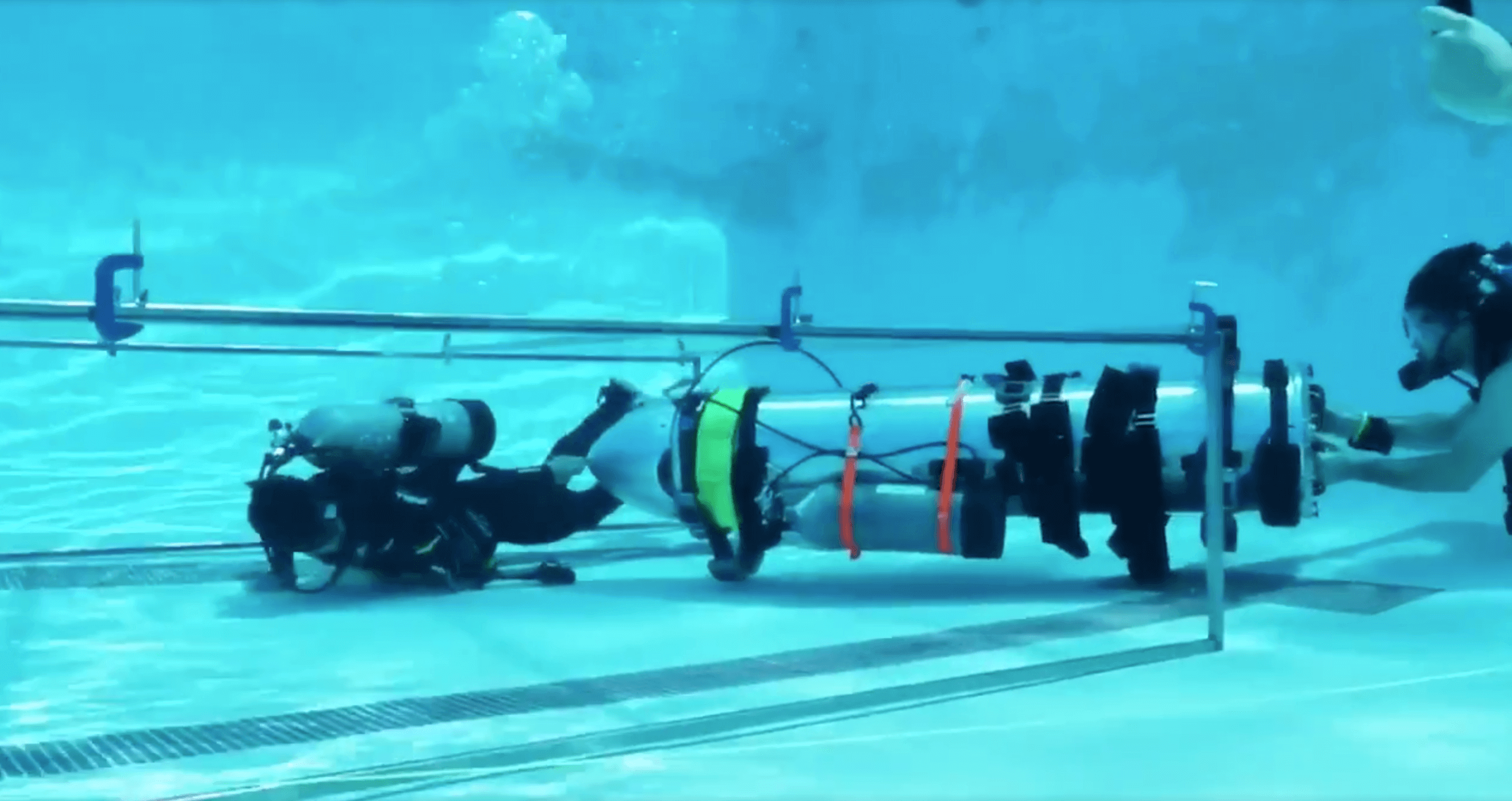 What Elon Musk has built a children's submarine