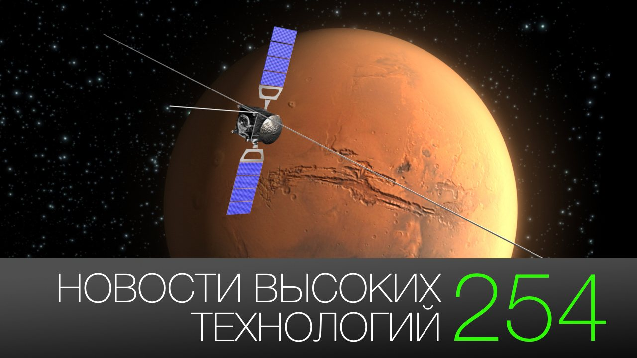 #news high technology 254 | water on Mars and space drive on water