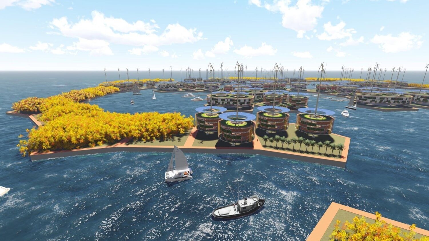 Floating city will have 300 homes, their government and their own cryptocurrency