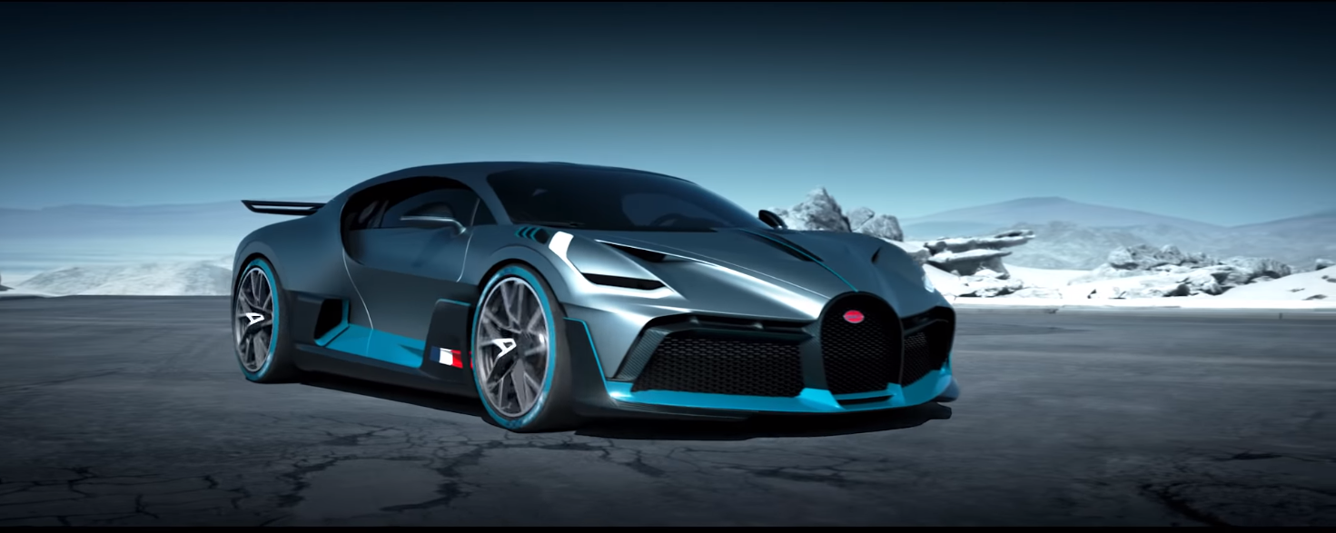 Bugatti introduced the newest model Divo. All 40 cars sold out immediately