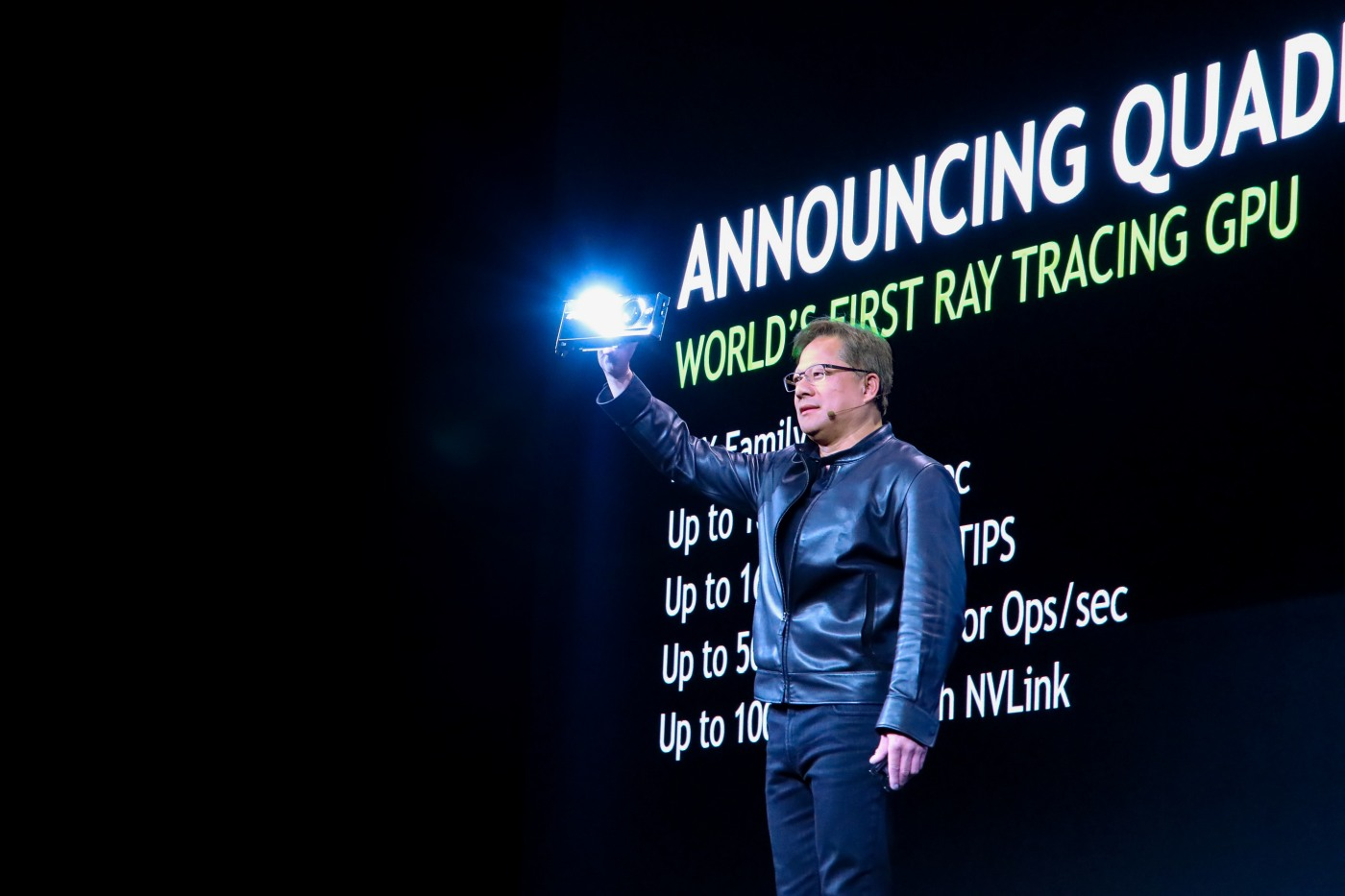NVIDIA announces gaming graphics card the new generation next week