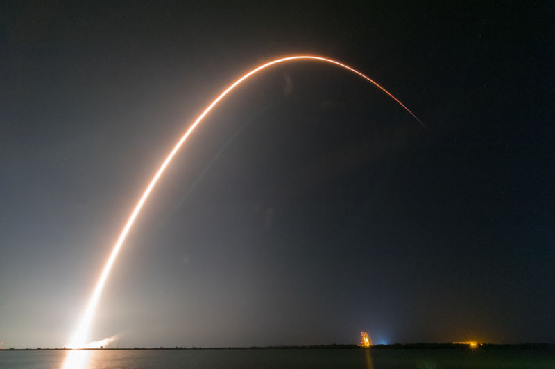 Tonight SpaceX for the first time to re-launch the rocket version of the Block 5