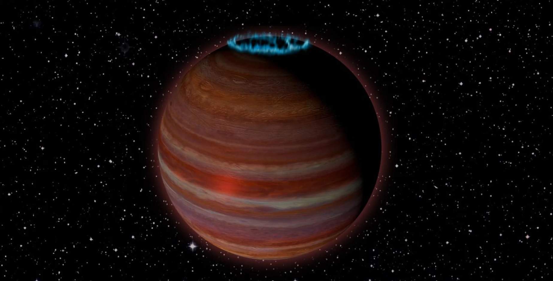 Scientists have discovered a giant wandering planet with a powerful magnetic field