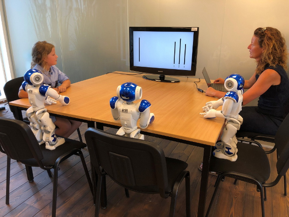 Children are more susceptible to influence from the robots than adults