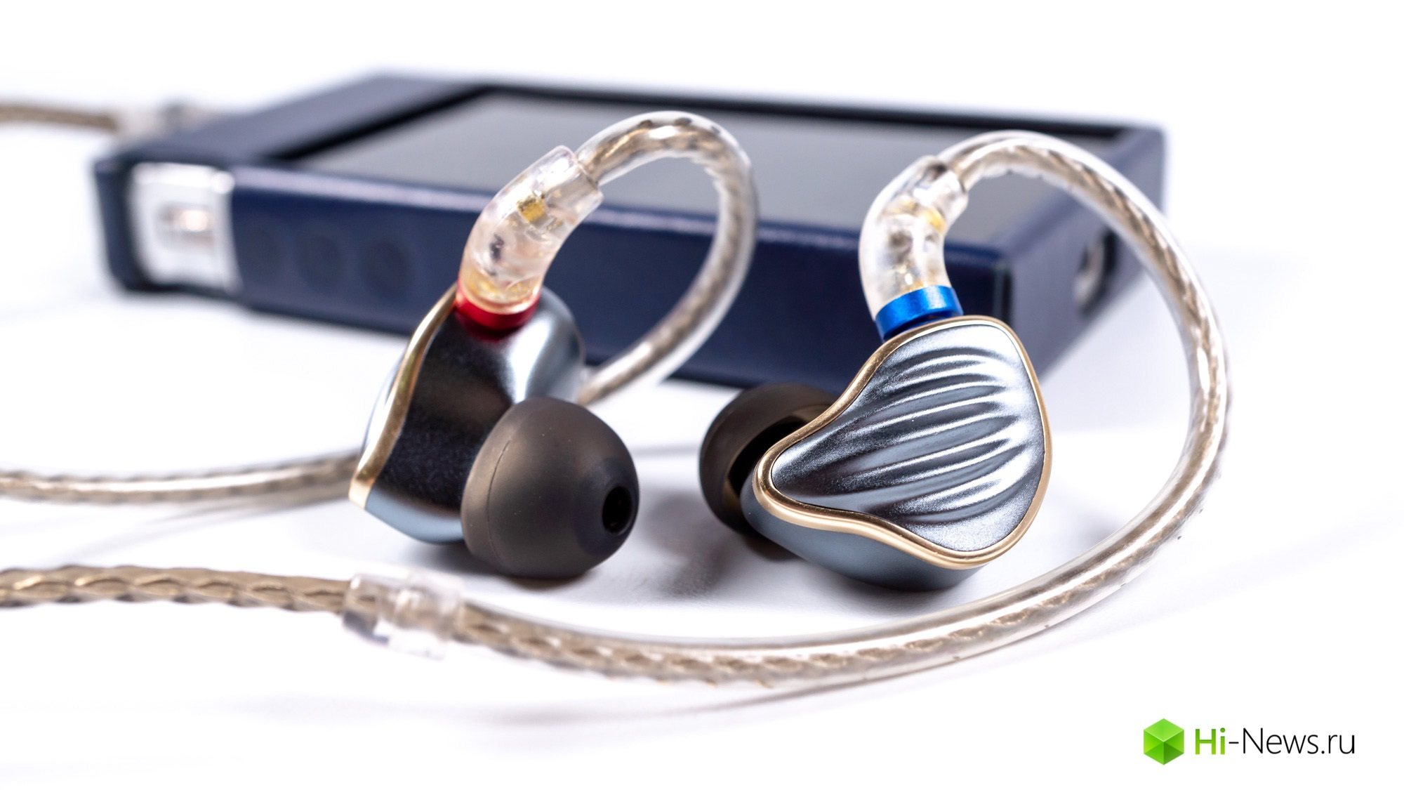 Overview headphones FiiO FH5 — technology, style and sound