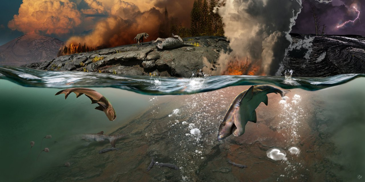 Scientists have proposed another explanation for the mass extinction in Earth's history