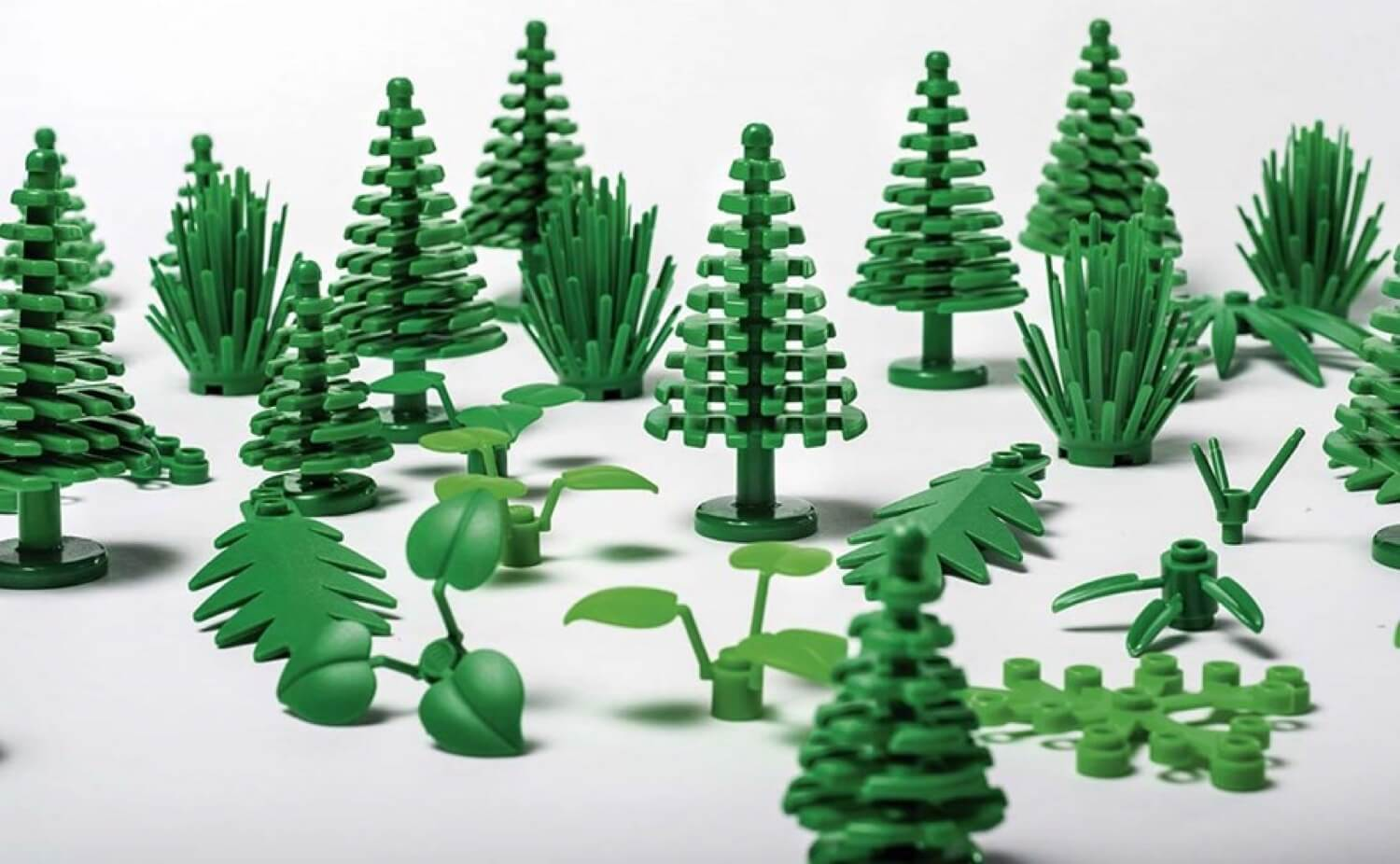 LEGO started making blocks of plants