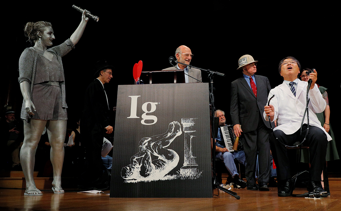 In the USA ended with the ceremony of awarding the IG Nobel prize in 2018