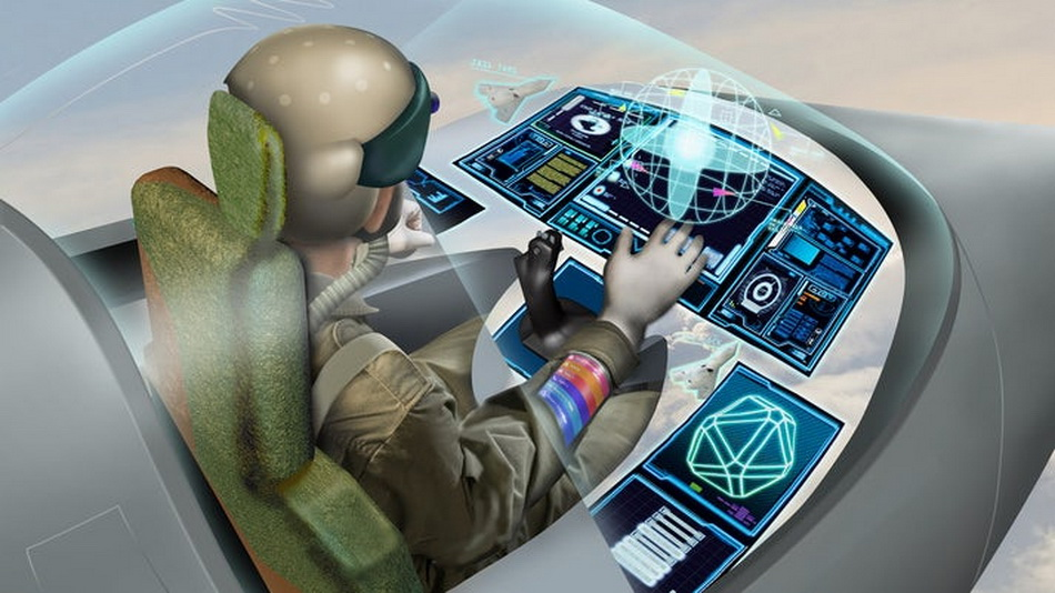 Virtual reality system will replace the controls of combat fighters