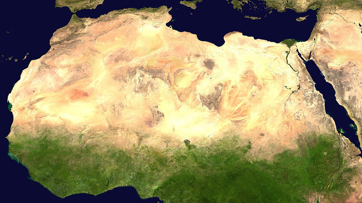 Large wind and solar farms in the Sahara can make the desert green and wet