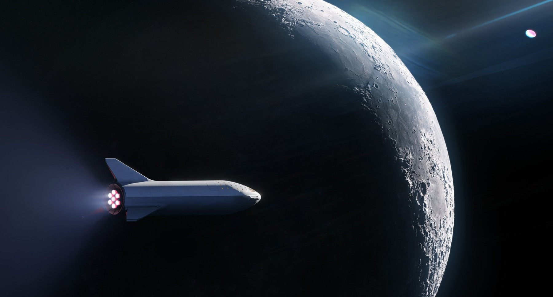 SpaceX will send tourists to the moon on a rocket BFR. Will fly if the Musk?