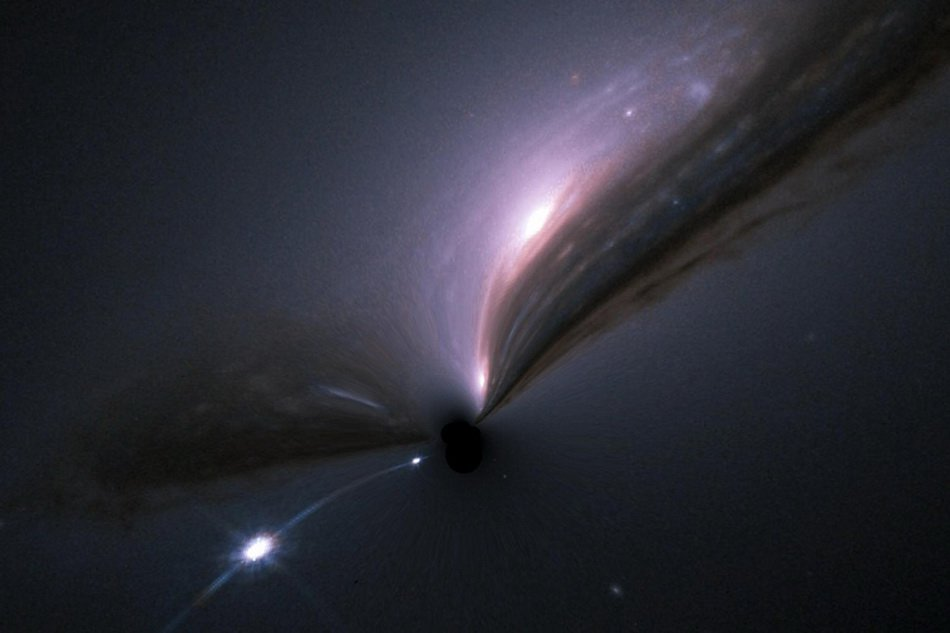 The new study limits the contribution of black holes to dark matter