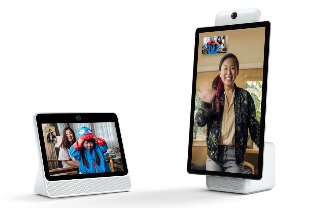 Facebook introduced the device for video chat Portal and Portal Plus