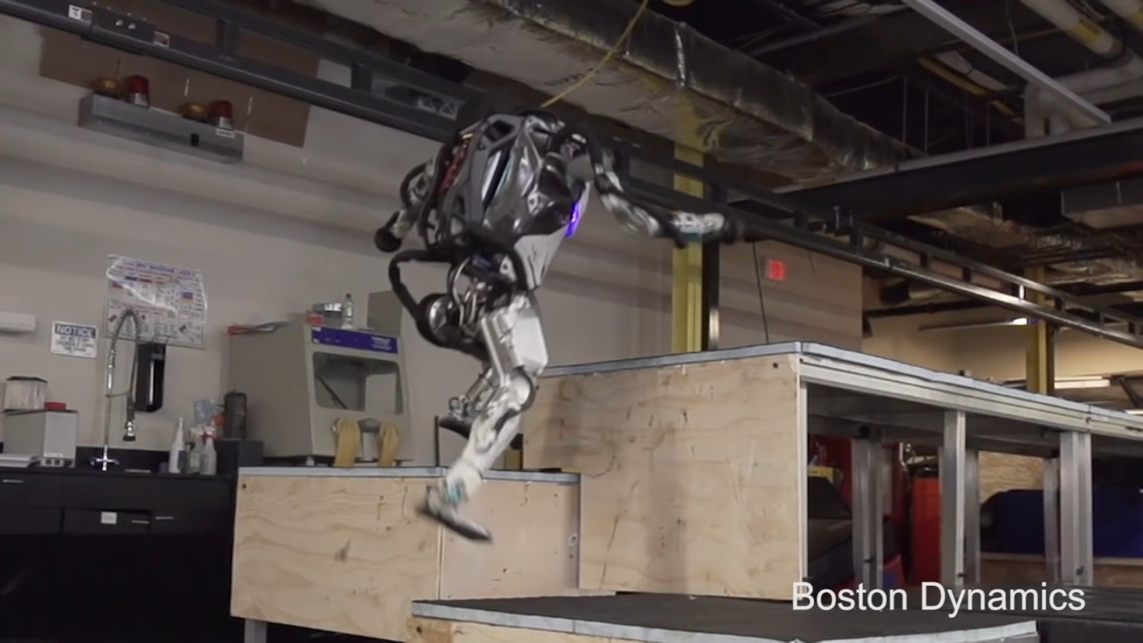 #video | the Company Boston Dynamics have trained your robot