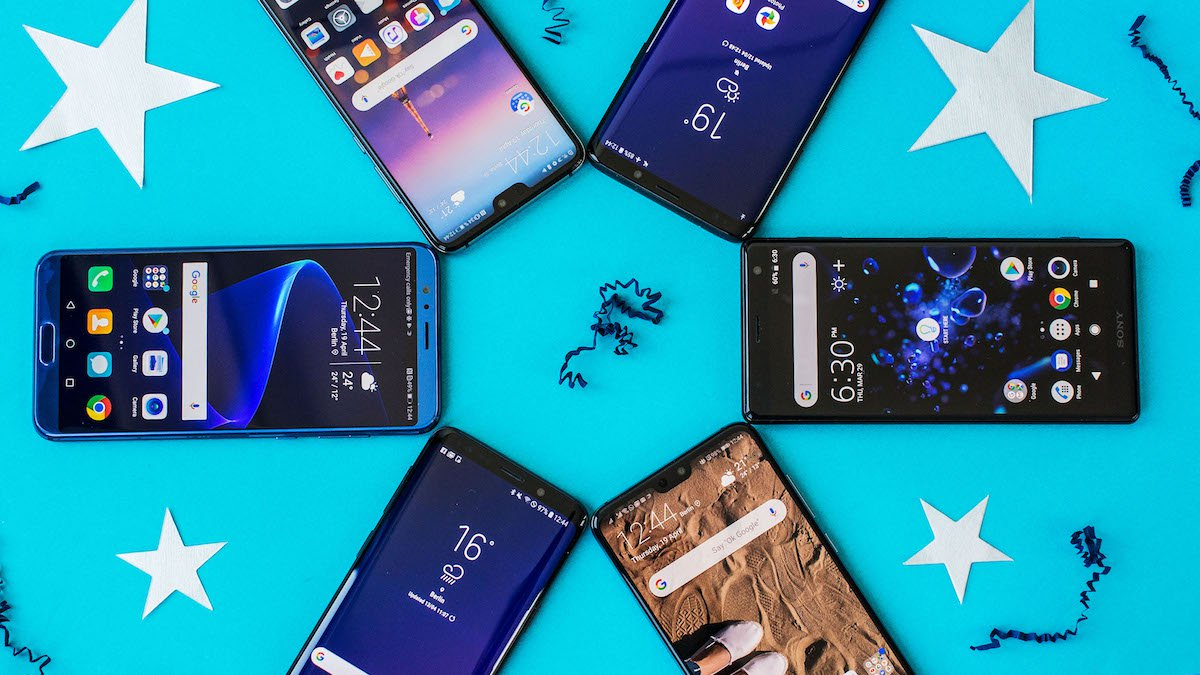 What smartphones were interesting in 2018?