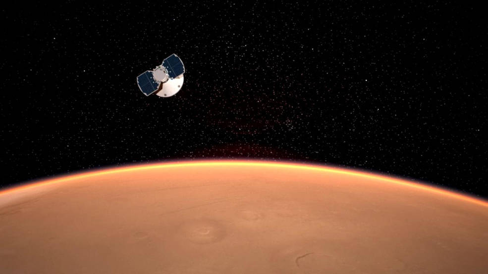 The InSight probe reached Mars: a chronicle of touchdown live