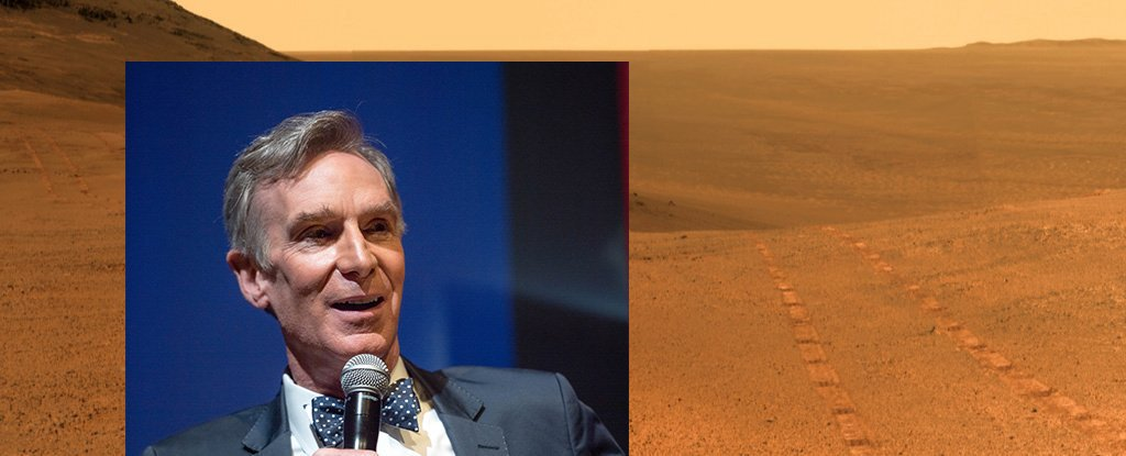 The famous scientist spoke sharply about the idea of terraforming Mars