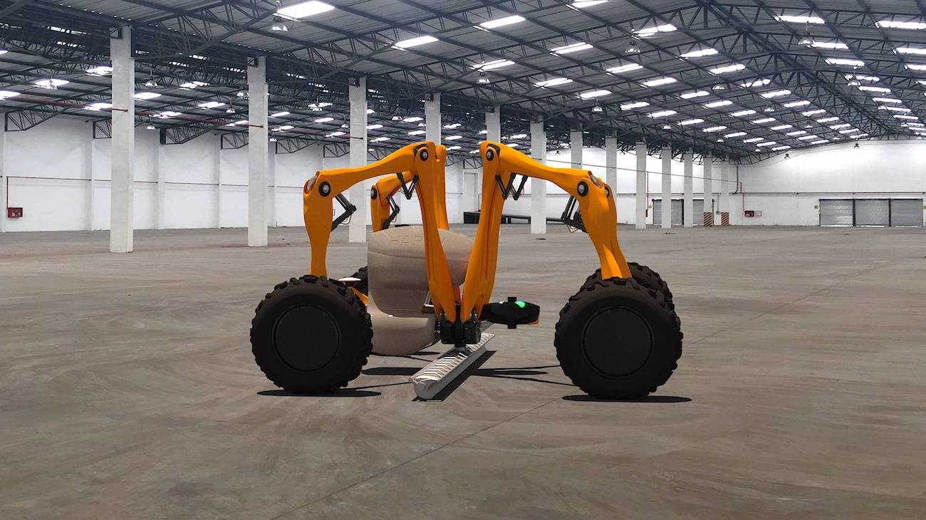 New universal robot for agriculture will replace most of the farmers tools