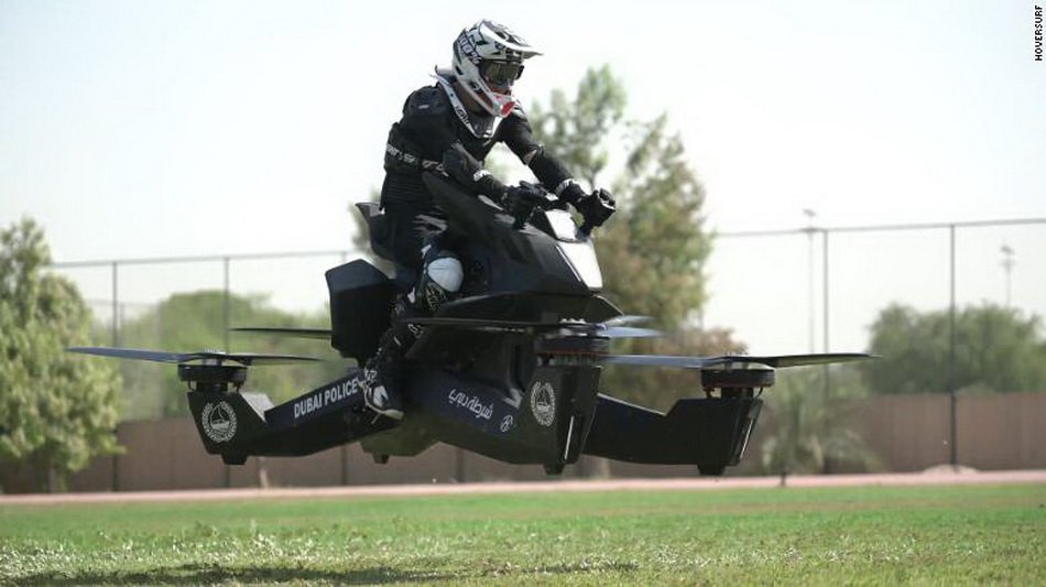 Dubai police will use Russian hoverbike