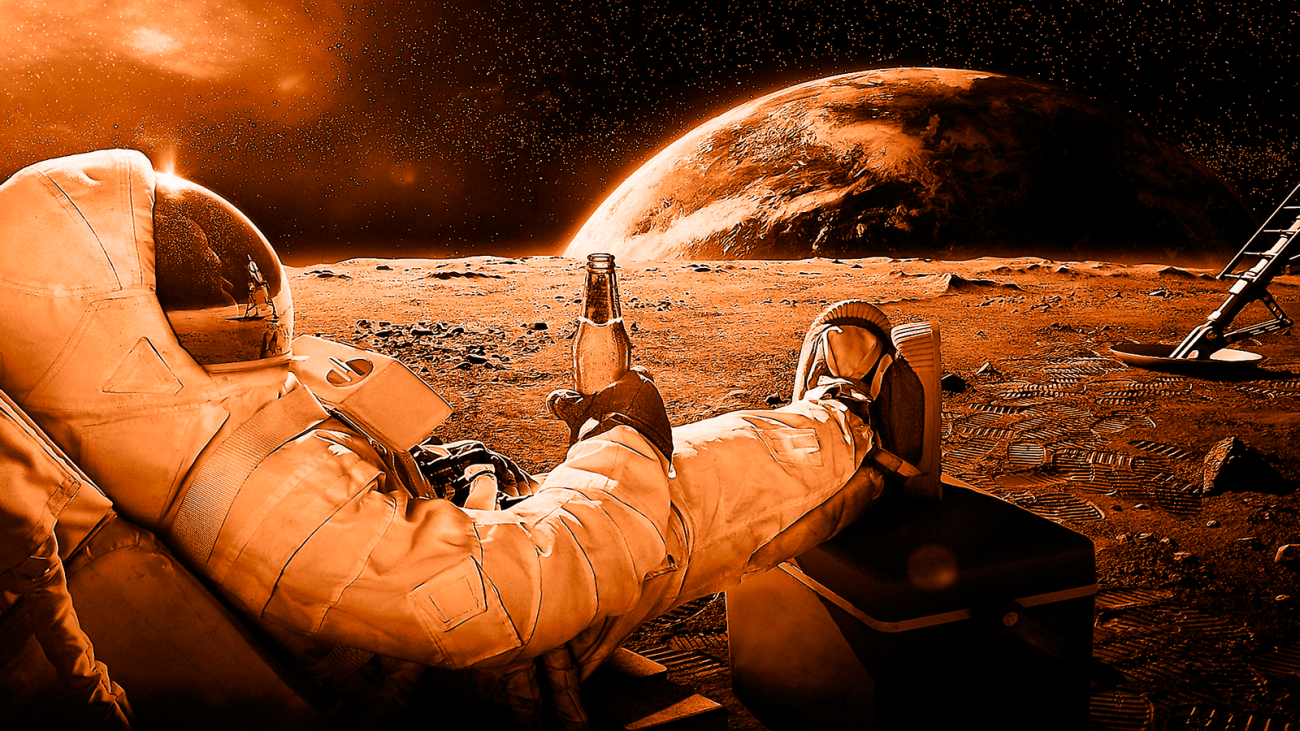 Genetically modified bacteria can produce oxygen on Mars