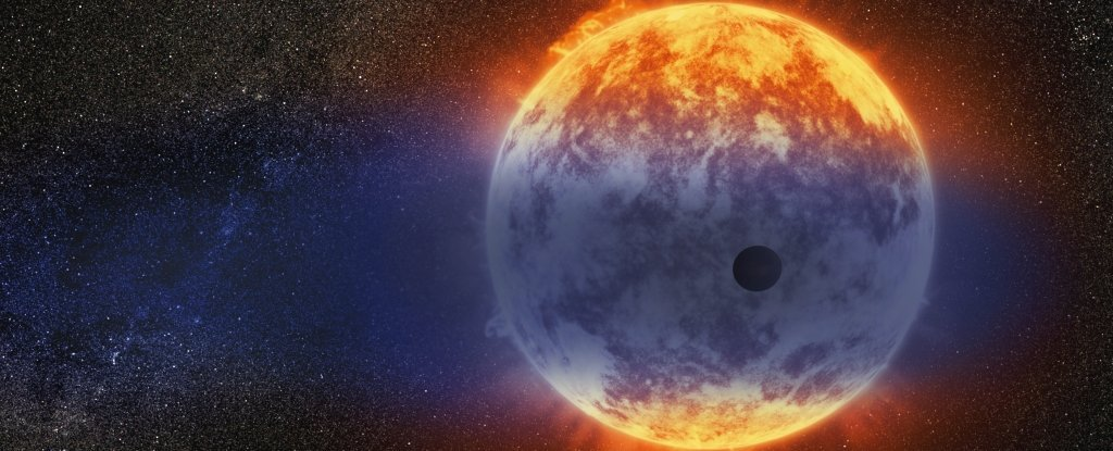 Astronomers have discovered a planet that is evaporating at a record rate