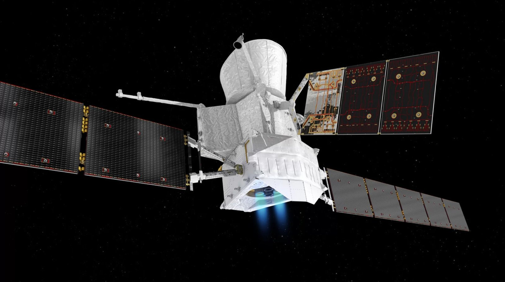 Ion engines mission BepiColombo passed the first test in space