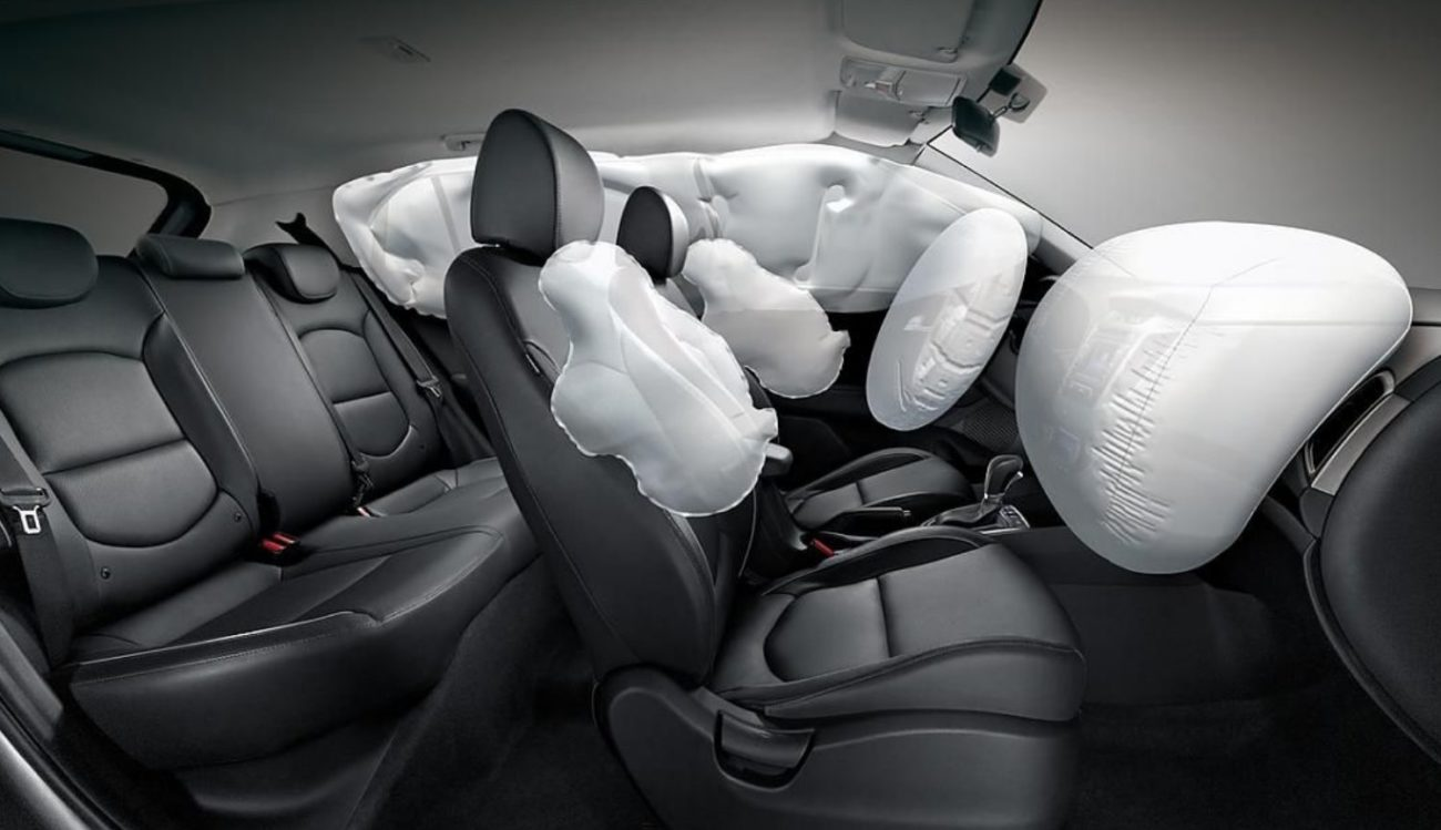 Hyundai has developed airbags from multiple blows