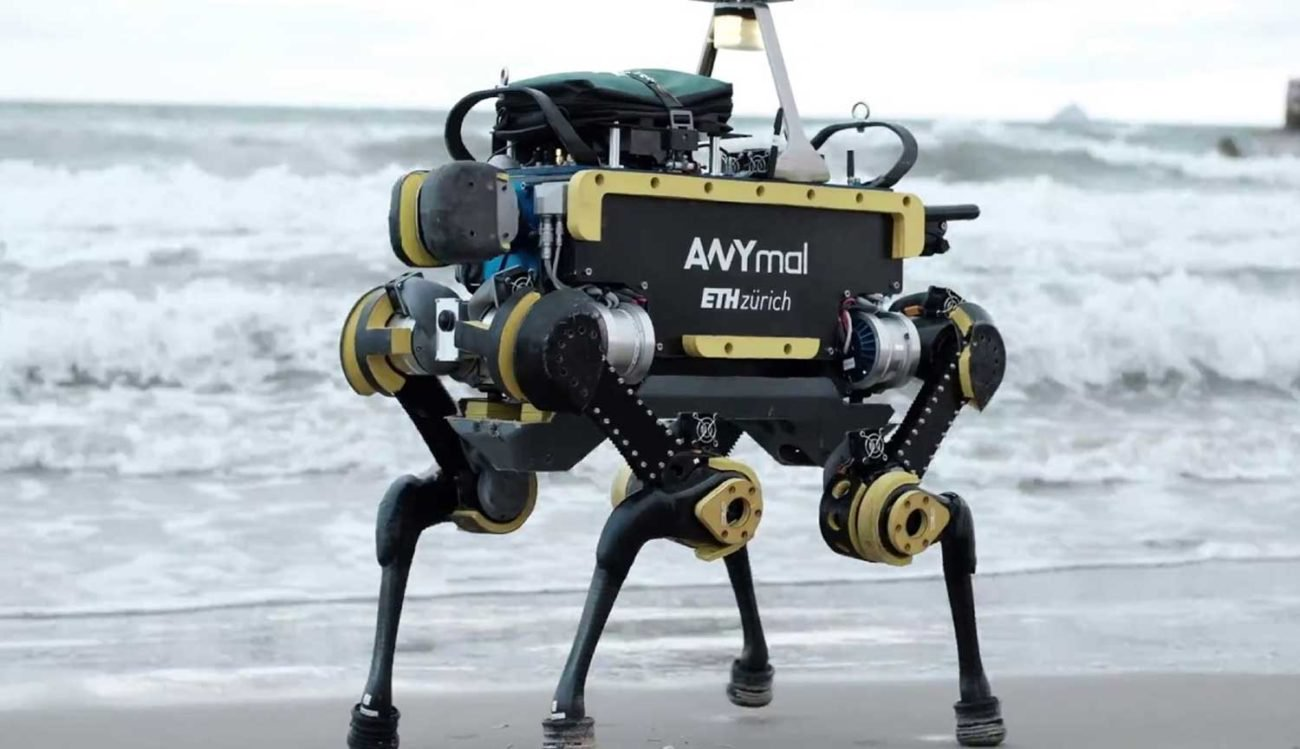 Robots with four legs become smarter thanks to computer simulation