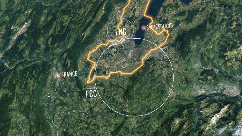 CERN wants to build the biggest and coolest Collider particles in the Universe