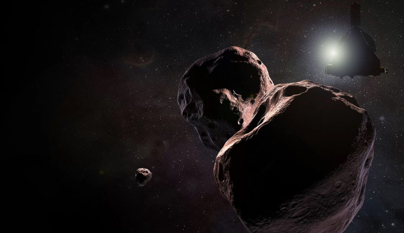 Asteroid Ultima Thule was the most remote object ever studied by people